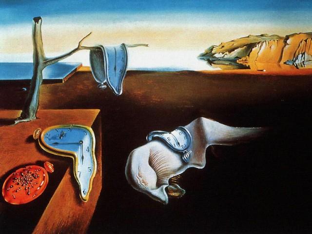 """Salvador Dali """"Postojanost sećanja"""""""