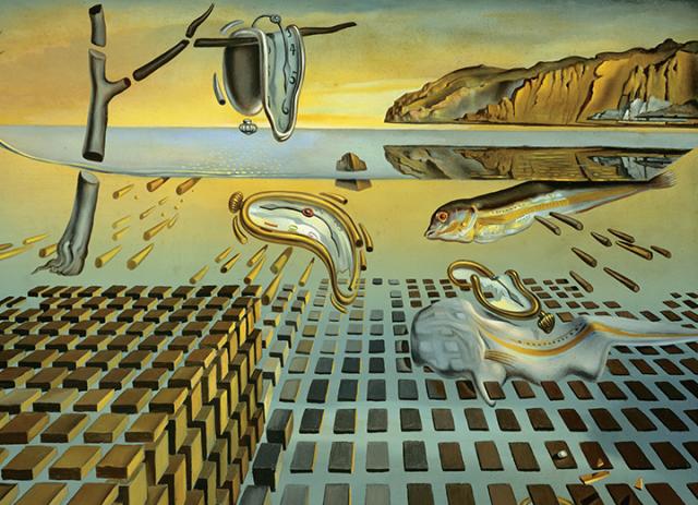 """Salvador Dali """"Dezintegracija postojanosti pamćenja"""""""