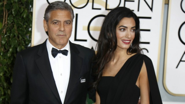 17 godina razlike ne predstavlja problem za Georga i Amal Clooney (foto: WENN)