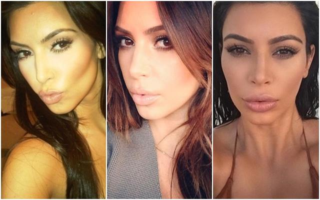 Kim Kardashian je proslavila sve trendove za savršene selfi fotografije (foto: Instagram)