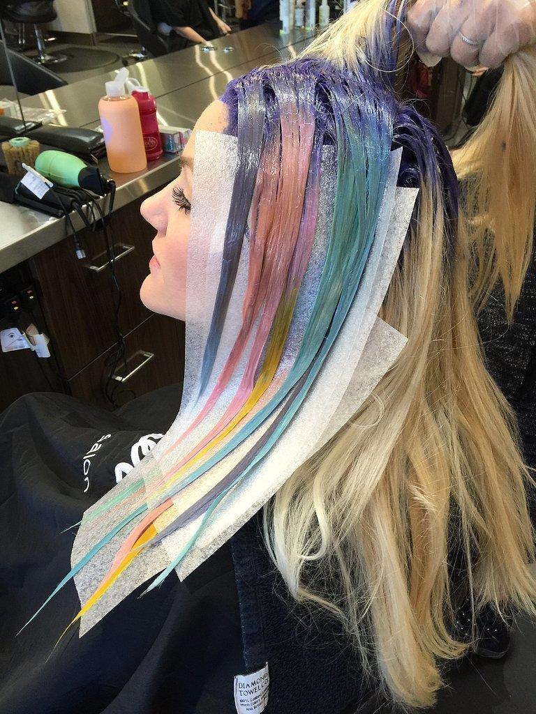 Ovako nastaje ova neobična frizura (foto: Instagram)