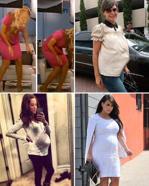 Многумина тврдат дека тие ја лажирале својата бременост