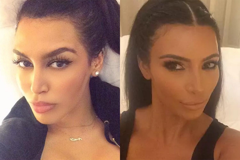 Modna blogerka, međutim, ne vidi svoju sličnost sa slavnom starletom (foto: Instagram)