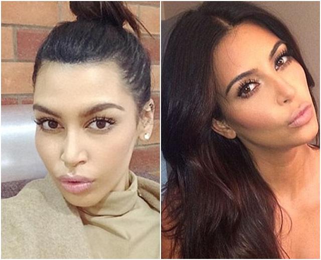 Stilovi oblačenja im se razlikuju, ali Sonia se često šminka po ugledu na rijaliti zvezdu (foto: Instagram)