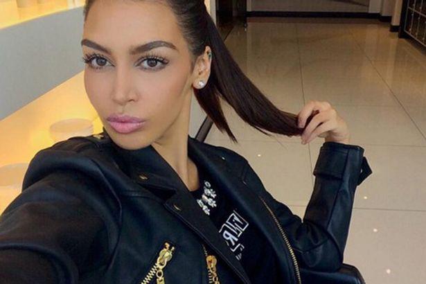 Sonia Ali neverovatno liči na Kim Kardashian (foto: Instagram)