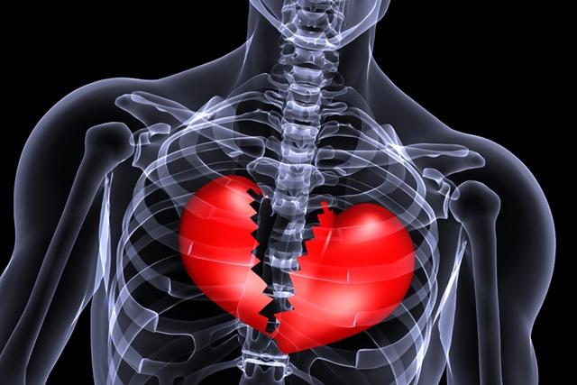 Itsraživanja pokazuju da sindrom slomljenog srca zaista postoji (foto: hdwallpaperfun.com)