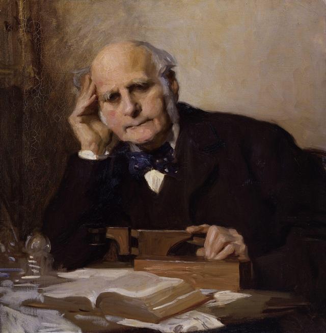 Sir Francis Galton koji je sporveo ovaj neobičan ekspreiment pre više od 130 godina (foto: Wikipedia)