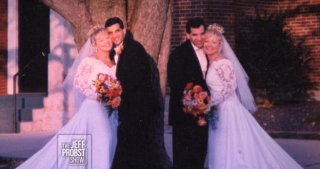 Crag, Mark, Diane i Darlene na venčanju (foto: Screenshot)