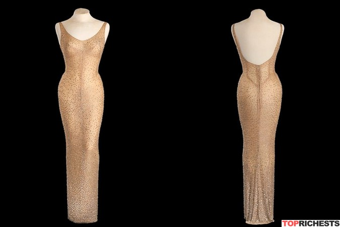 "Marilyn-Monroe's-""Happy-Birthday""-dress"