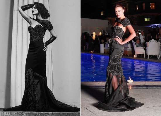 The-World's-Most-Expensive-Black-Diamond-Dress-by-Debbie-Wingham-2