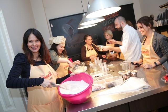 Menaž Glazura, priprema kolača